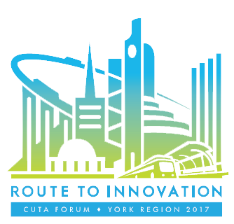 CUTA Tradeshow logo - Route to innovation - York Region 2017