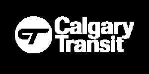 Calgary Transit Logo White