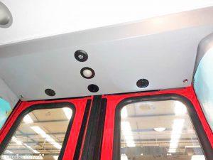 Passenger Counting Sensor Bar, DA-400, Recess installation