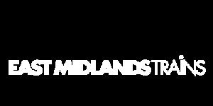 East Midlands Trains Logo White