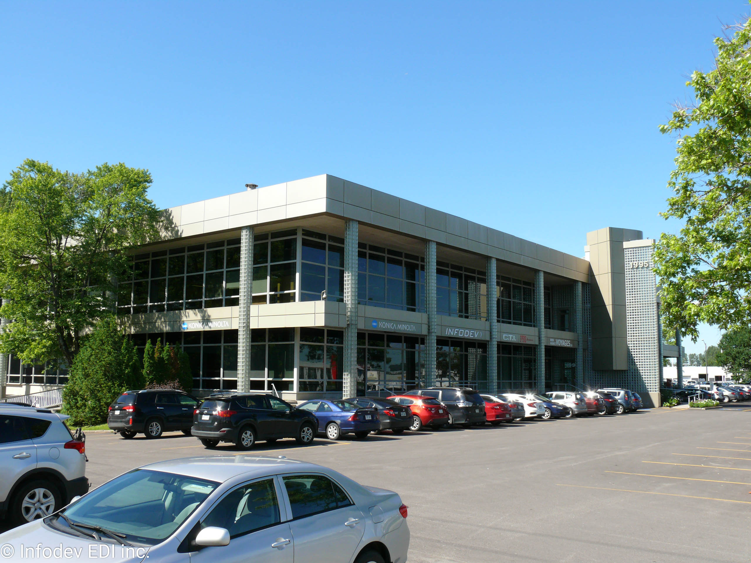Infodev Offices and Factory located in Quebec City, Canada