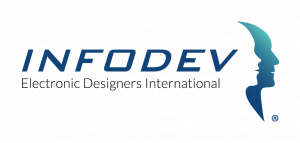 Logo Infodev EDI inc- Electronic Designers International -English Version