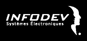 Logo Infodev EDI blanc